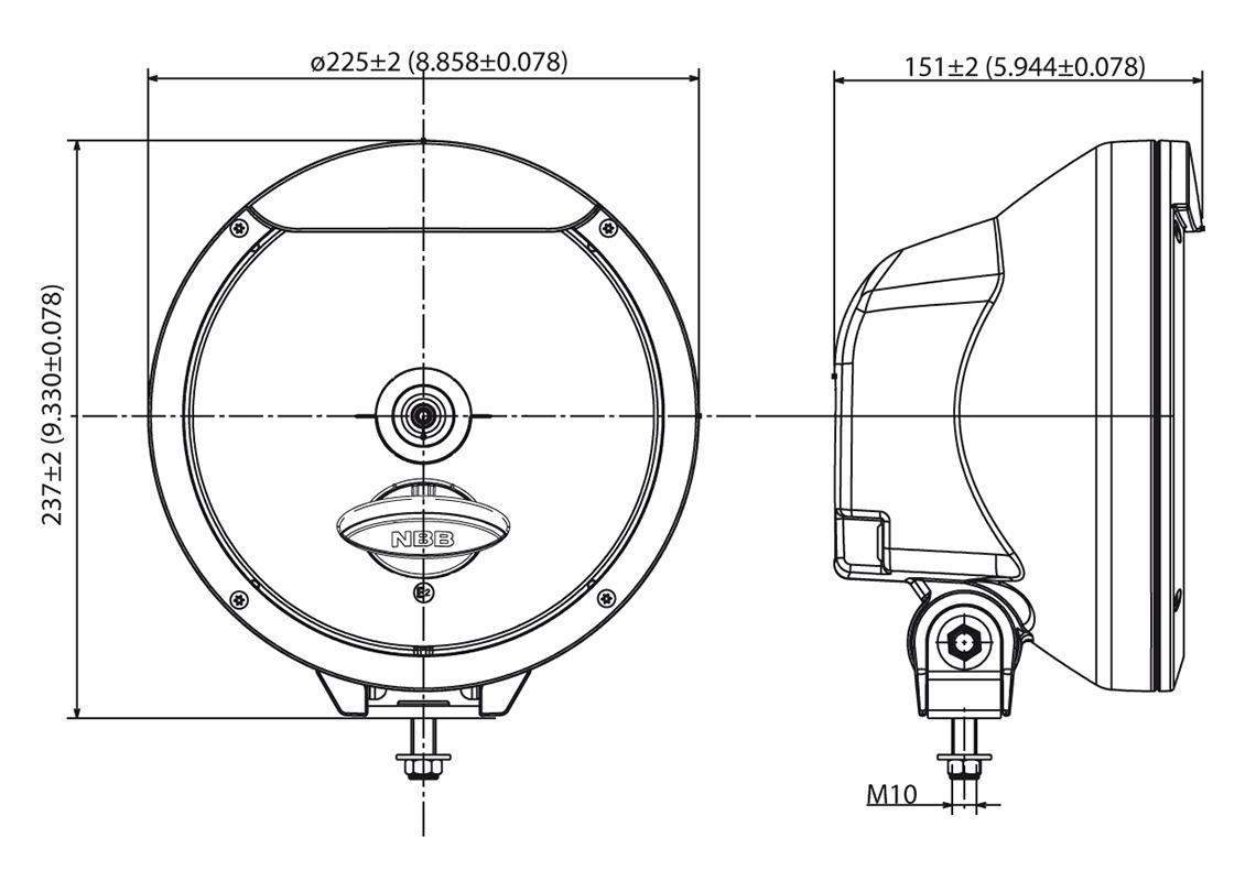 auxiliary light xenon 12  24v