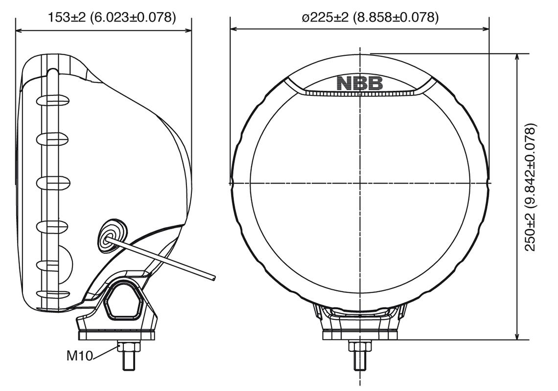 auxiliary light halogen 12  24v