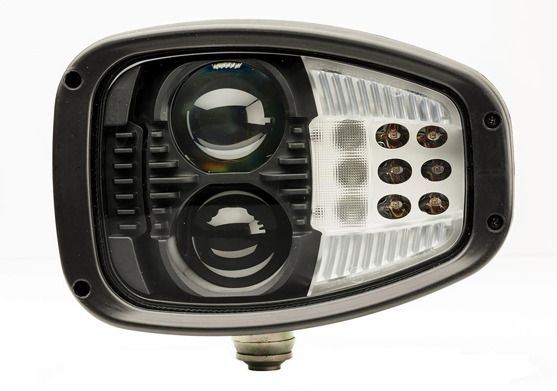 Driving light left ECE LED 12/24V 2