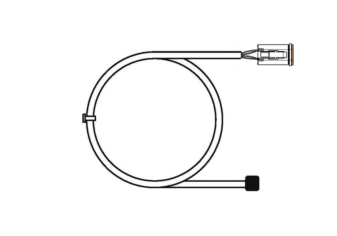 harness connector deutsch 4 pin for ctl15 7 5 m