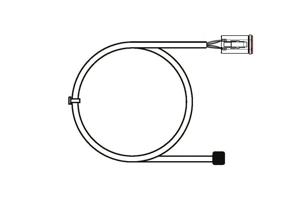 harness connector deutsch 4 pin for bl15 7 5 m