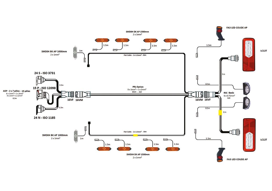 Complete System Lamps   Wiring Semi