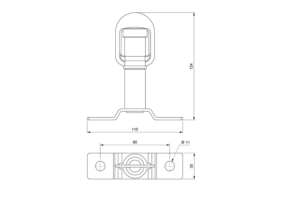 Socket With Central Clamp Iso 4148 4165 Vignal Vignal