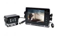 Reversing or surveillance camera video range