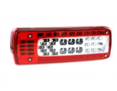 Rear lamp LED Left with AMP 1.5 - 7 pin side connector